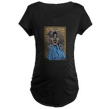 Steam punk raven Maternity T-Shirt