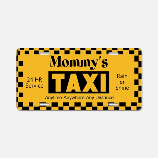 Mommys Taxi Aluminum License Plate