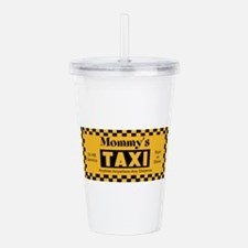 Mommys Taxi Acrylic Double-wall Tumbler