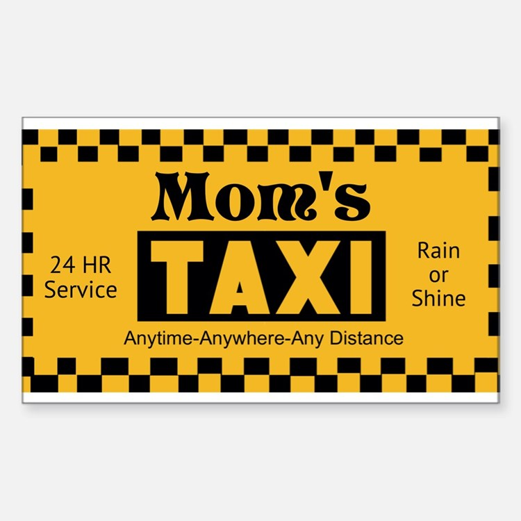 Moms Taxi Decal