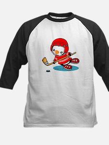 Ice Hockey Penguin (R) Baseball Jersey