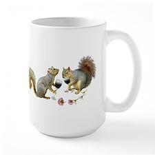 Squirrels Wedding Wine Mug