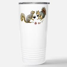Squirrels Wedding Wine Travel Mug