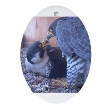 Astrid & Ares Kiss Ornament (Oval)