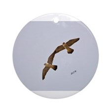 Astrid & Ares Ornament (Round)