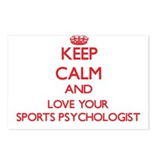 Keep Calm and love your S Postcards (Package of 8)