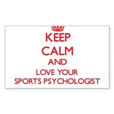 Keep Calm and love your Sports Psychologis Decal
