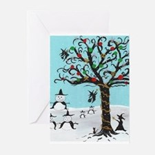 Unique Pagan yule Greeting Cards (Pk of 10)