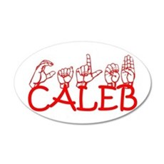 Caleb Wall Decal