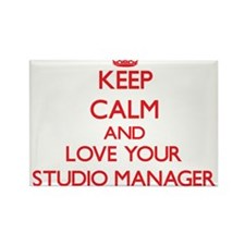 Keep Calm and love your Studio Manager Magnets