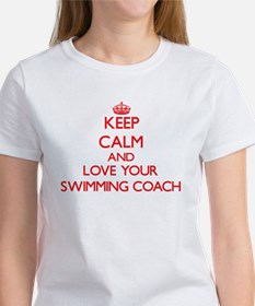 Keep Calm and love your Swimming Coach T-Shirt