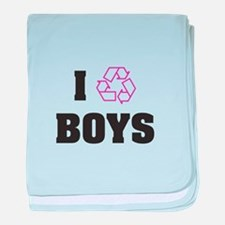 Recycle Boys baby blanket