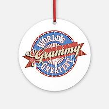 Grammy Ornament (Round)