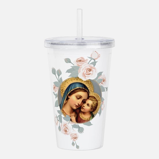 Our Lady of Good Remed Acrylic Double-wall Tumbler