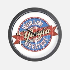 YiaYia Wall Clock