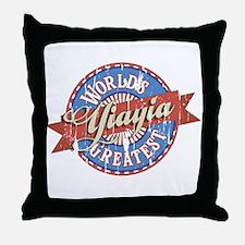 YiaYia Throw Pillow