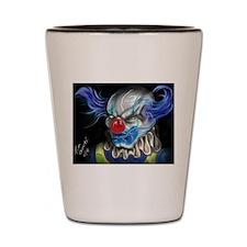 Cute Clowns Shot Glass