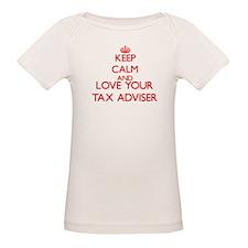 Keep Calm and love your Tax Adviser T-Shirt