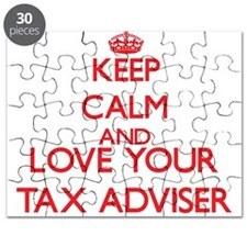 Keep Calm and love your Tax Adviser Puzzle