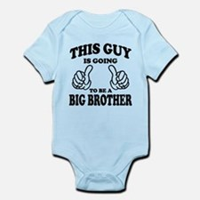 Funny I%2527m going to be a big brother Onesie
