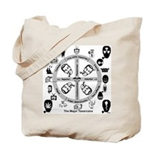 Dobbs Hex/Head Tote Bag