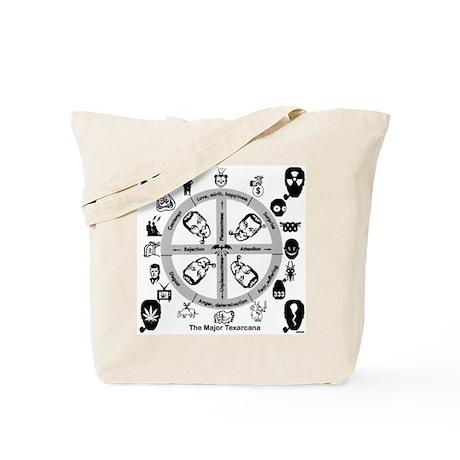 Dobbs Hex/Head Tote Bag