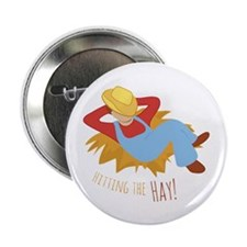"Hitting Hay 2.25"" Button (10 pack)"