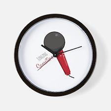 Singing Sensation Wall Clock