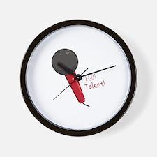 Got Talent Wall Clock