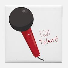 Got Talent Tile Coaster