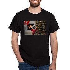 Pug Lust: Misha's Christmas T-Shirt