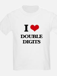 I Love Double Digits T-Shirt