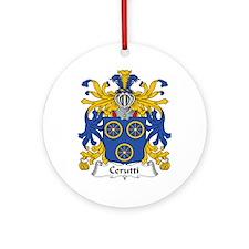 Cerruti Ornament (Round)