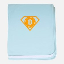 StonefishSays Bitcoin Logo baby blanket