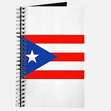 Puerto Rican Boricua Flag Bandera Orgullo Journal