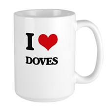 I Love Doves Mugs
