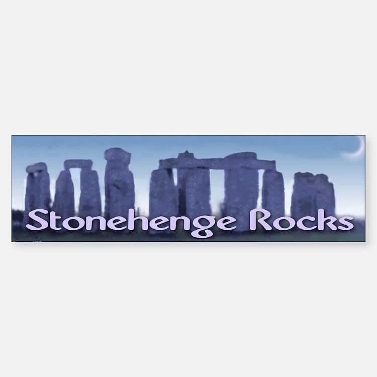 Stonehenge Bumper Bumper Bumper Sticker