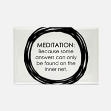 Meditation Inner Net Enso Quote Magnets