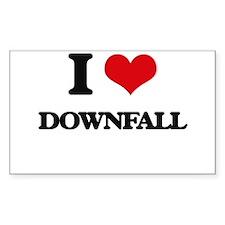 I Love Downfall Decal