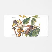 Audubon Yellow-Billed Aluminum License Plate