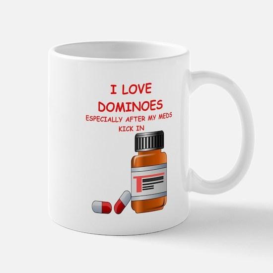 i love dominoes Mugs