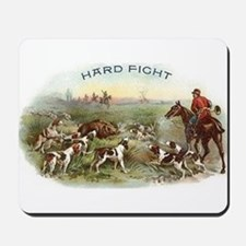 Vintage Boar Hunt Mousepad