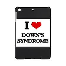 I Love Down's Syndrome iPad Mini Case
