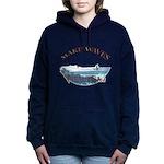 waterski 2 Women's Hooded Sweatshirt
