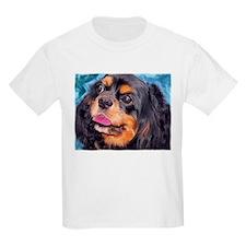 Black & Tan Cavalier King Cha T-Shirt