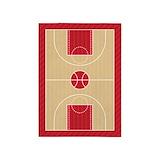 Basketball court 5x7 Rugs