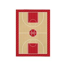 Basketball Court 5'x7'Area Rug