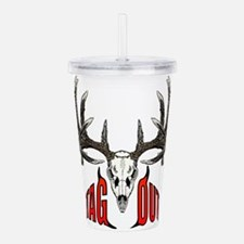 Tag Out whitetail Acrylic Double-wall Tumbler