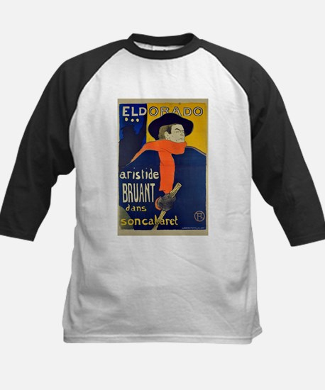 Aristide Bruant by Toulouse-Lautrec Baseball Jerse