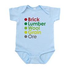Cute Settlers Infant Bodysuit